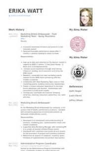 brand ambassador cover letter brand ambassador resume resume format pdf