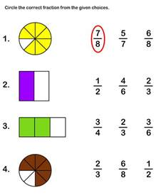 fraction worksheets 2nd grade davezan