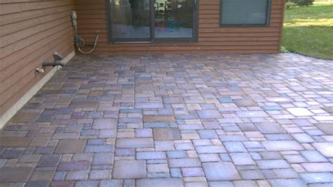 Simple Paver Patio Patio Pavers Designs Patio Paver Ideas Easy Paver Patio