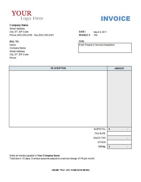 free sle invoice templates contractor invoice template free 28 images contractor