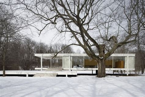 farnsworth house plano il farnsworth house mies van der rohe photos e architect