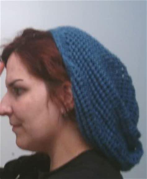 knit pattern hair net snood knit snoods hair head coverings free patterns