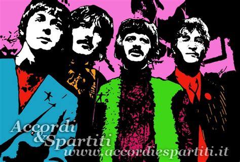 beatles testi the and winding road the beatles accordi e spartiti