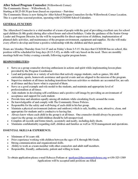 Residential Counselor Resume Sample by Ymca Camp Counselor Cover Letter System Test Engineer