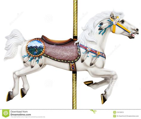 carousel horse royalty free stock images image 21610819