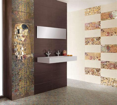 designer tile gustav klimt s the kiss tiles modern tile new york