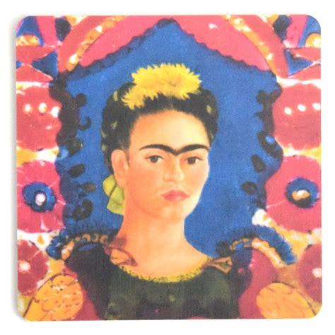 frida kahlo i paint 0500301239 coaster frida kahlo painting 12