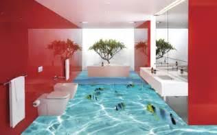 Floor Coverings For Bathrooms - 3d flooring ideas and 3d bathroom floor murals designs