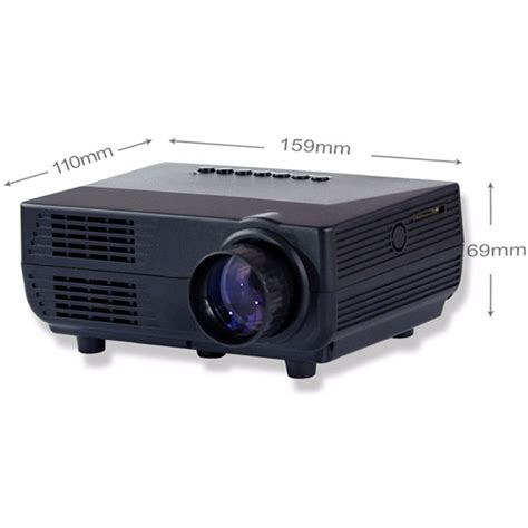 Proyektor Mini Tv Proyektor Mini Led 60 Lumens 480p With Tv Receiver Vs311