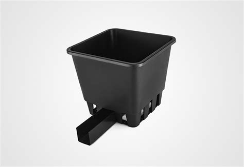 Planterbag 25 Liter Hitam 10 liter drainage collection pot plantlogic
