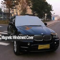 Car Cover To Keep Snow New Car Windshield Cover Snow Protector Tarp 5
