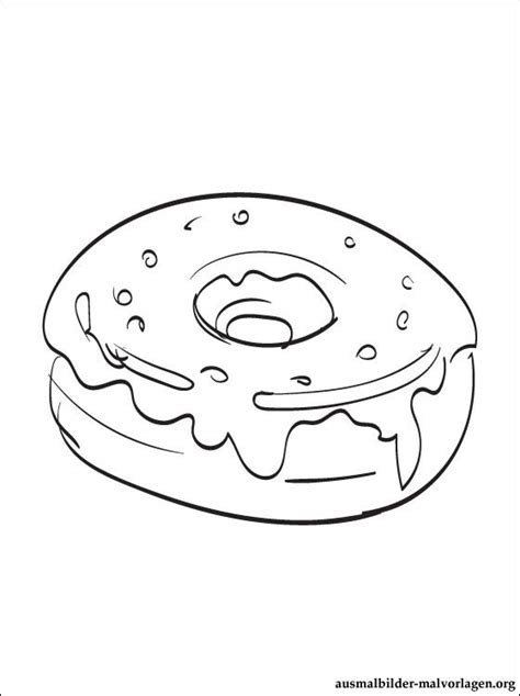 sprinkle donut coloring page free coloring pages of donut with sprinkles