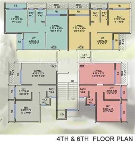 cluster house plans dp recovero in kalamboli mumbai price location map