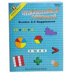 supplement math mathematical reasoning grades 2 4 supplement math