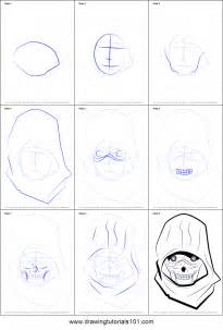 Trace Drawing Online How To Draw Death Gun From Sword Art Online Printable Step
