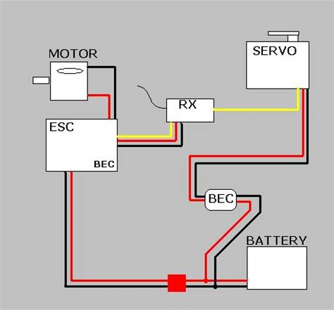 servo wiring diagram wiring schematic for rc steering servo 38 wiring diagram