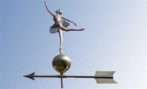 Custom Weathervanes Ballerina Weathervane Custom Copper Ballerina