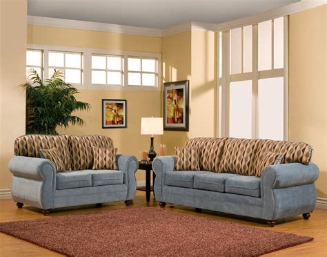 living room with blue sofa light colored sofa light brown sofa thesofa