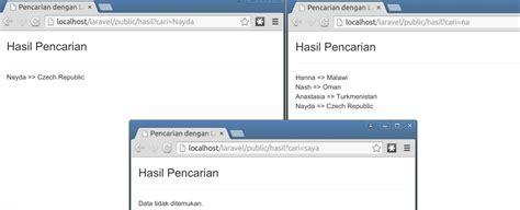 tutorial laravel 5 indonesia pdf membuat pencarian dengan laravel 5 171 jaranguda com