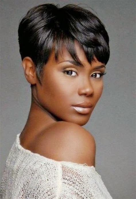 short hair cut for african women with round face 2018 latest short hairstyles for african american women