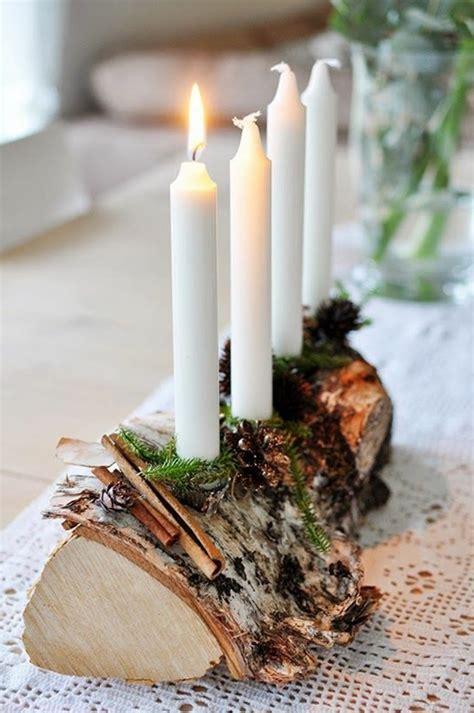 Weihnachtliche Tischdeko Holz by Weihnachtliche Tischdeko Schaffen Sie Eine Wirklich