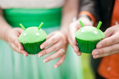 android cupcake 17 best images about android green orange wedding on
