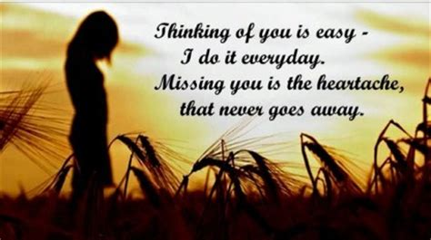 thinking    easy    everyday missing    heartache