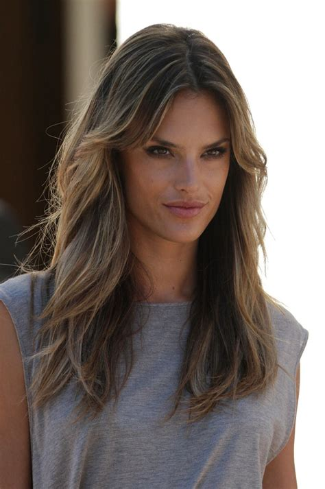 Pictures Of Alessandra Ambrosio by Alessandra Ambrosio Hair Color Hair Colar And Cut Style