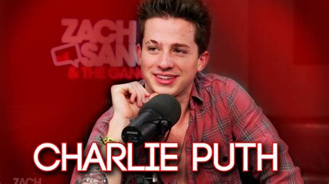charlie puth zach sang charlie puth interview part 1 zsatg youtube