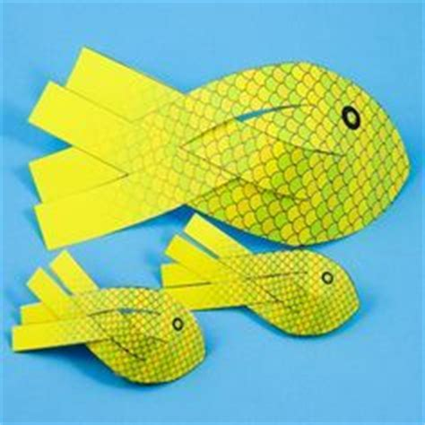 How To Make 3d Fish Out Of Paper - 1000 bilder zu sommer auf basteln
