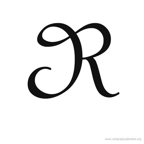 tattoo font letter r calligraphy alphabet r alphabet r calligraphy sle