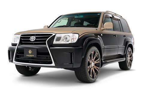 products of toyota company land cruiser 100 toyota エアロパーツ ドレスアップのダムド damd inc