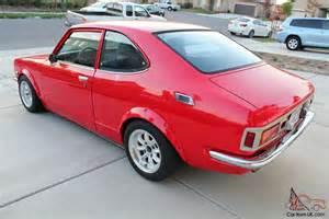 1974 Toyota Corolla 1974 Toyota Corolla Sr5 Te27 Mango 2tg