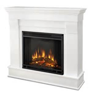 home depot electric fireplace real chateau 41 in electric fireplace in white