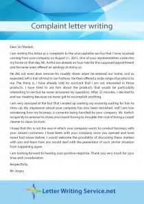 Business Letter Samples Complaint samples complaint letters bad service cover letter templates