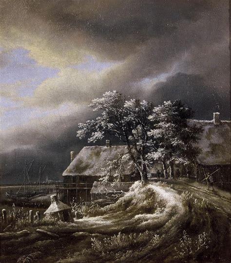 Jacob Van Ruisdael Winter Landscape
