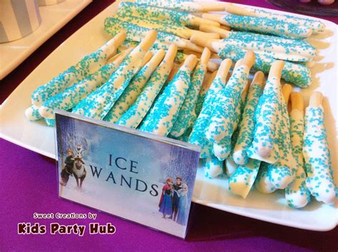 frozen themed birthday food kids party hub disney frozen themed party airah s 7th