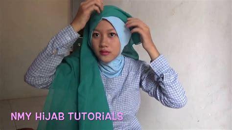 video tutorial hijab paris casual tutorial hijab paris segi empat casual cantik dua tipe