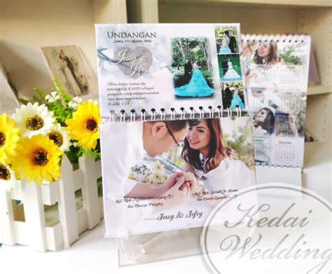 Kalender Pernikahan undangan kalender undangan notes murah undangan pernikahan