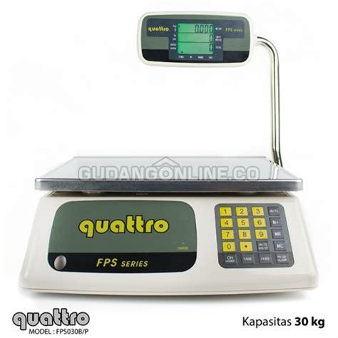 Timbangan Elektrik 30 Kg quattro timbangan buah elektronik harga precise pricing