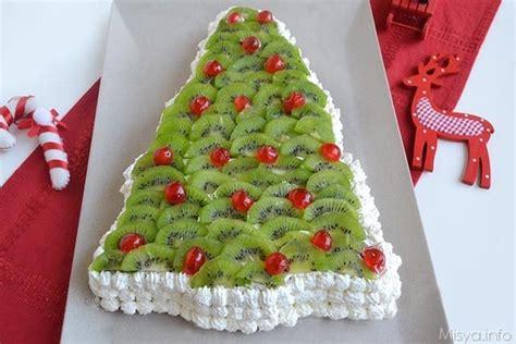 decorare torta con kiwi 187 torta albero di natale ricetta torta albero di natale