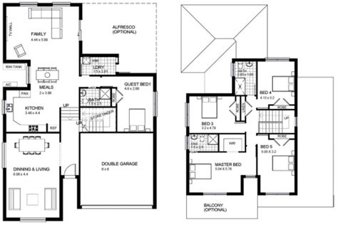 Best Two Storey House Plans by Best Two Storey House Plans Home Design Ideas Two Storey