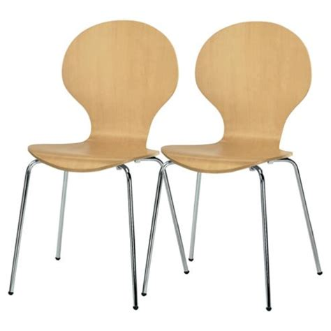 Tesco Bistro Chairs Buy Bistro Pair Of Stacking Chairs From Our Dining Chairs Range Tesco