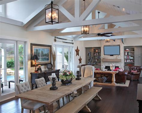 rustic open floor plans rustic open floor plans home design photos decor ideas
