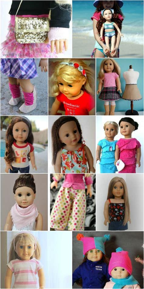 diy doll crafts 80 free american 18 quot doll patterns sy dockor och
