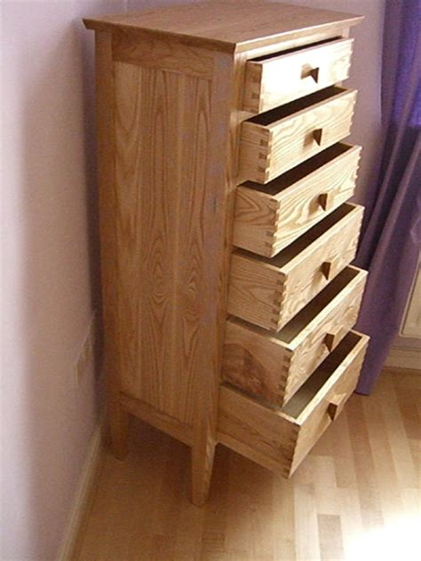 Wooden drawer units made to measure in West Yorkshire.Fine