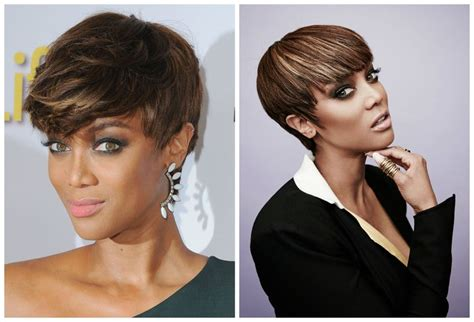 tyra banks just got a super short and super pretty pixie pixie hairstyles the best super short cuts