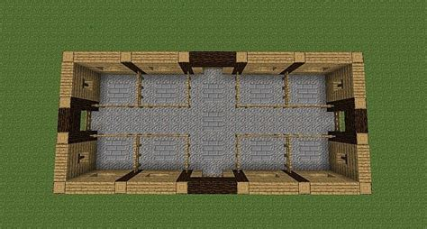 Farm House Minecraft by Horse Stable Minecraft Project