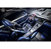 Porsche 911 Gets Electric Blue Interior By Carlex Design