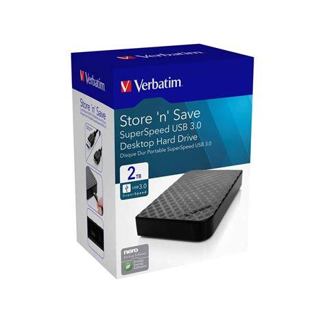 format hard drive larger than 2tb verbatim external hard drive 2tb 3 0 driv1028 cos